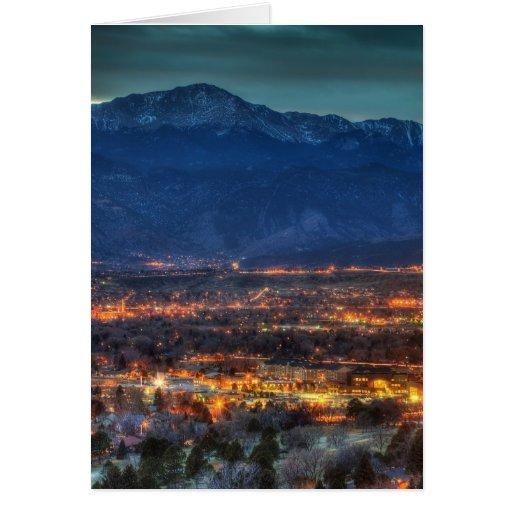 Lighting Colorado Springs: Colorado Springs Lights Greeting Cards From Zazzle.com