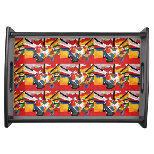 colorful 60s Peter Max style Serving Tray   Zazzle  Peter Max 60s