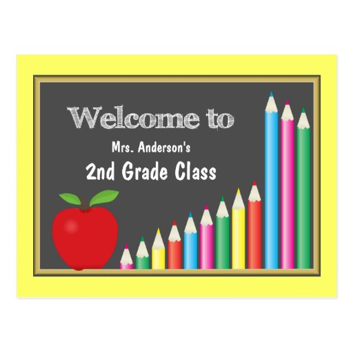 Back To School Cards, Back To School Card Templates