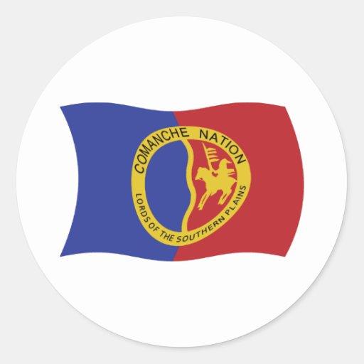 Comanche Nation Flag Sticker | Zazzle