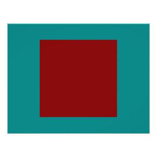 Color Combination Flyers & Programs | Zazzle