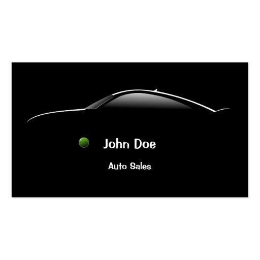 Racing Car Auto Sales Business Card - Design #501071  Car Sales Business Cards