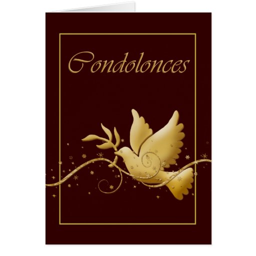 Condolence Funeral Bereavement Greeting Cards