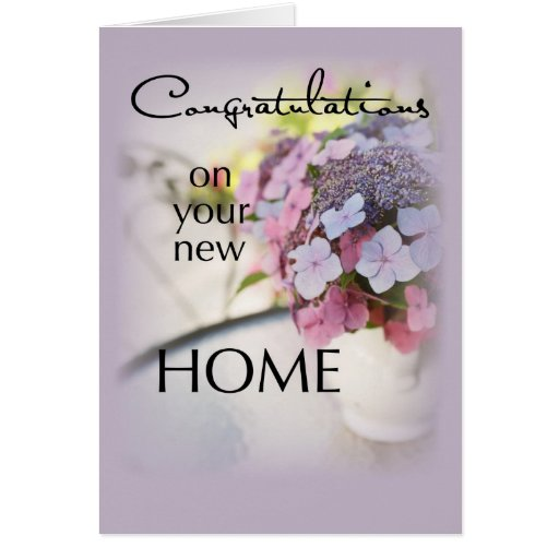7 Apps To Use While Designing And Building Your New Home: Congratulations New Home, Flowers Card