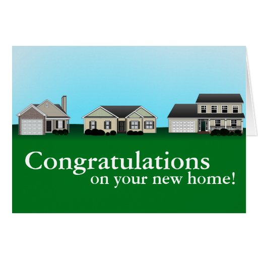 7 Apps To Use While Designing And Building Your New Home: Congratulations On Your New Home Cards