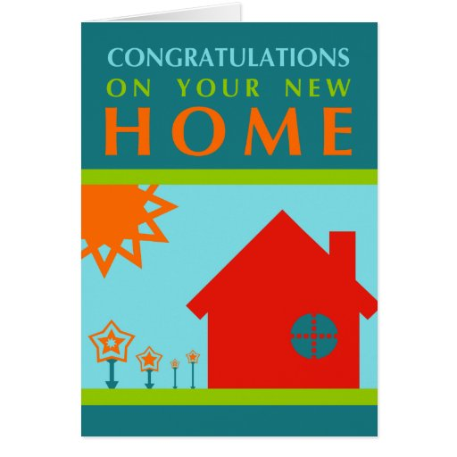 7 Apps To Use While Designing And Building Your New Home: Congratulations On Your New Home (crayola Shapes) Card