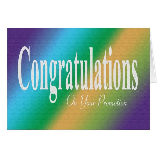 Congratulations for promotion in job - photo#30