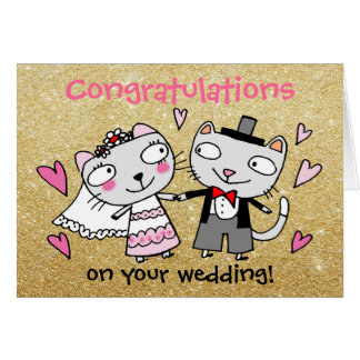 Cute Wedding Congratulations