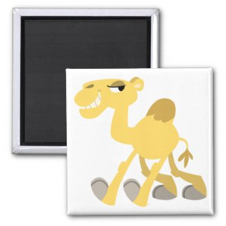 Cool and Cute Cartoon Camel Magnet magnet
