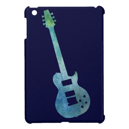 cool blue electric guitar case for the ipad mini zazzle. Black Bedroom Furniture Sets. Home Design Ideas