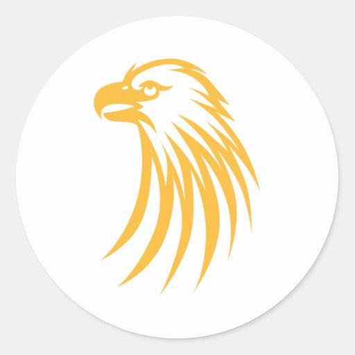 Cool Eagle Icon Logo Shirt StickersCool Eagle Logo