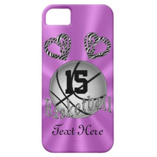 Cool iPhone 5S Basketball Cases for Women & Girls iPhone 5/5S Covers