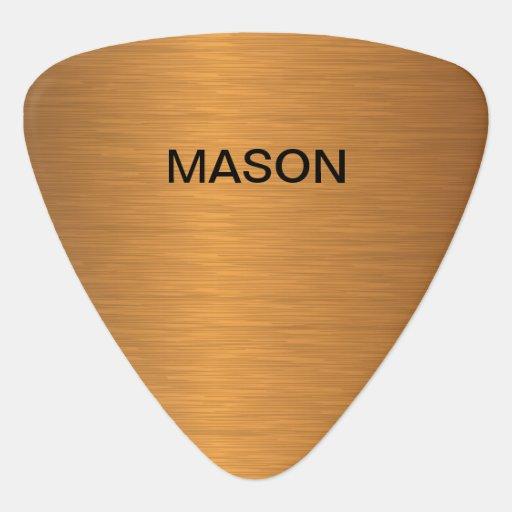 cool luxury monogram guitar picks guitar pick zazzle. Black Bedroom Furniture Sets. Home Design Ideas