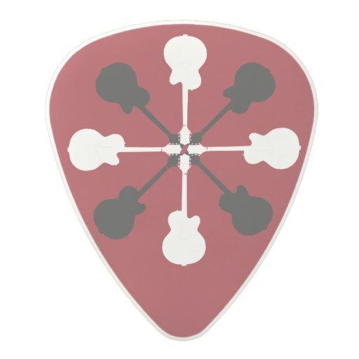 cool rock guitar picks polycarbonate guitar pick zazzle. Black Bedroom Furniture Sets. Home Design Ideas