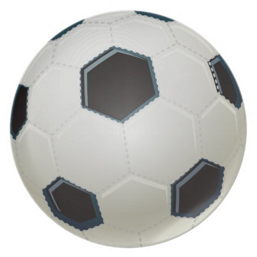 cool soccer ball plates   Zazzle