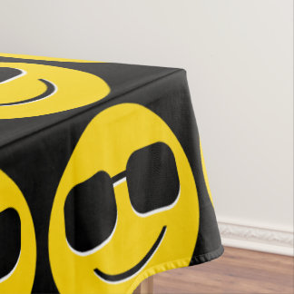 Emoji Tablecloths | Zazzle