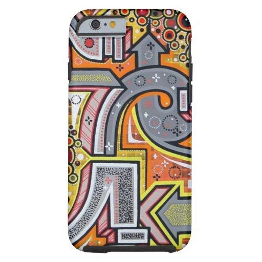 Cool Tough Graffiti IPhone 6 Case