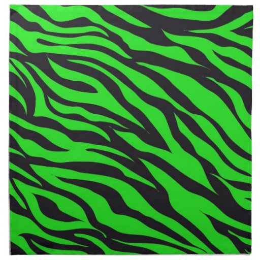 cool trendy neon lime green zebra stripes pattern cloth. Black Bedroom Furniture Sets. Home Design Ideas