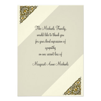 Thank You Wording Cards, Sympathy Thank You Wording Card Templates ...