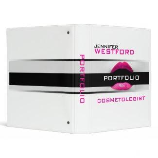 Cosmetologist portfolio binder zazzle for Cosmetology portfolio template