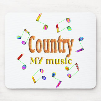 Country Music Mouse Pads Zazzle