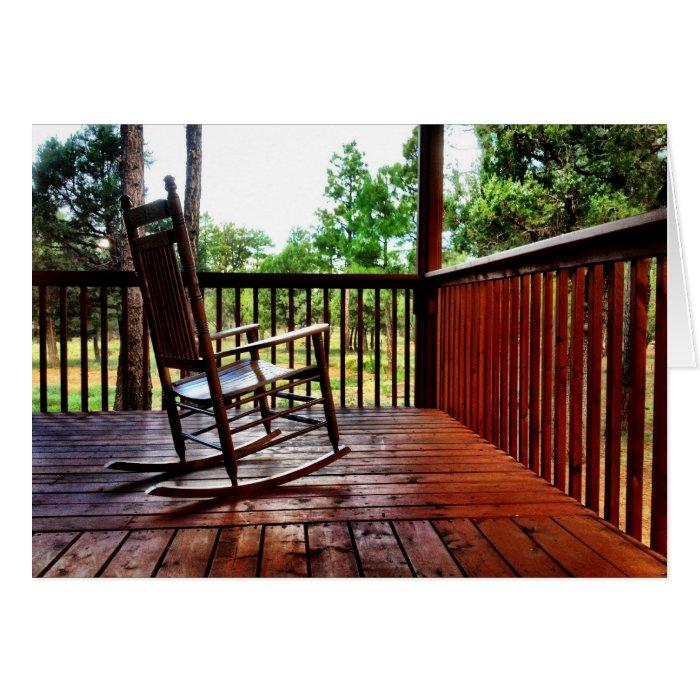 Miraculous Country Porch Rocking Chair Cards On Popscreen Inzonedesignstudio Interior Chair Design Inzonedesignstudiocom