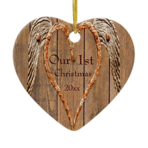 Country Style Rustic Angel Wings Wedding Christmas ...