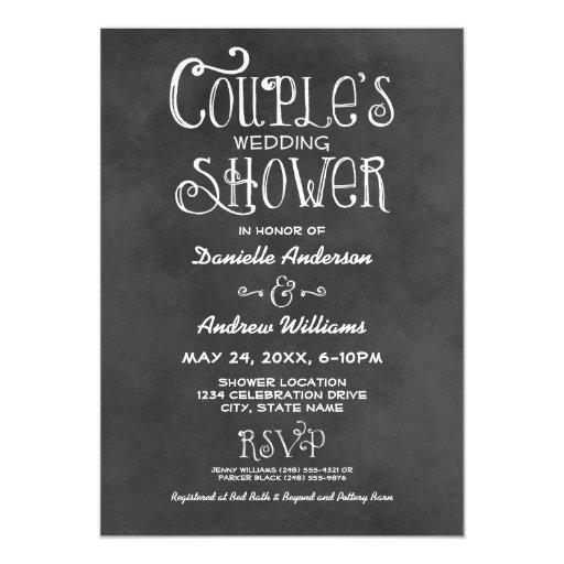 Couple's Wedding Shower