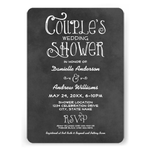 3,000+ Couples Wedding Shower Invitations, Couples Wedding