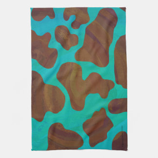 Turquoise And Black Kitchen Towels