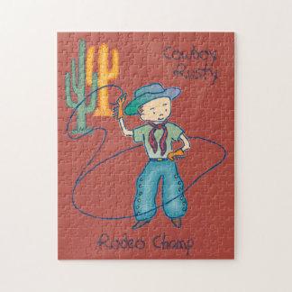 Cowboy Jigsaw Puzzles Zazzle