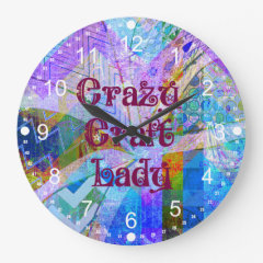 Pretty Pattern Wall Clocks Pretty Pattern Gifts