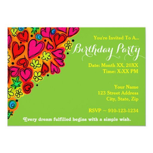 Invitation Maker Design Your Own Custom Invitation Cards: Create Your Own Birthday Party Invitation
