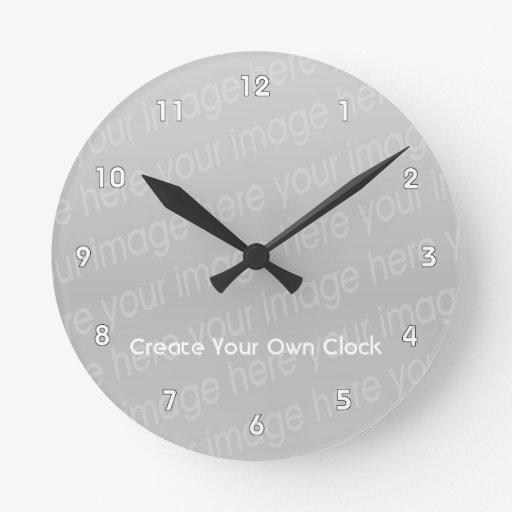 Make Your Own Clock: Create Your Own Clock - Style 2