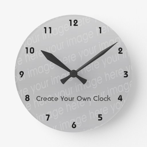 Make Your Own Clock: Create Your Own Clock - Style 3
