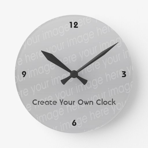 Make Your Own Clock: Create Your Own Clock - Style 4