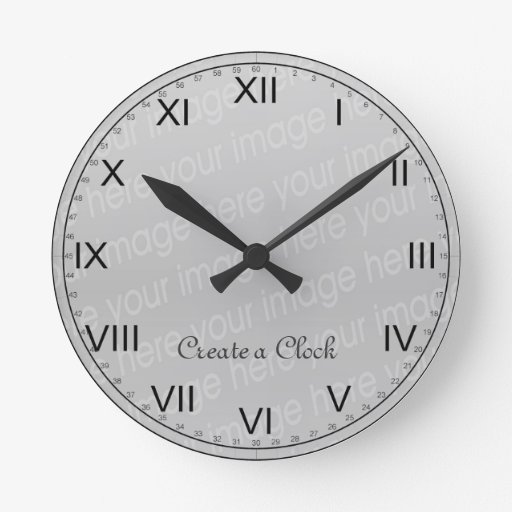 Make Your Own Clock: Create Your Own Clock - Style 6