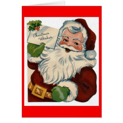 Create Your Own Custom Christmas Card Santa