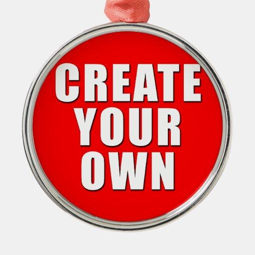 Create Your Own Custom Metal Ornament