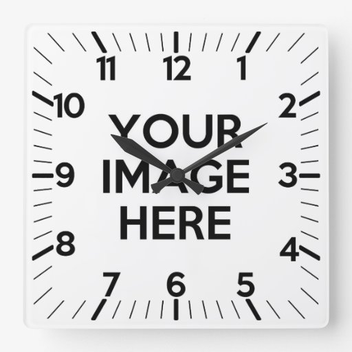 Make Your Own Clock: Create Your Own Custom Square Wall Clock