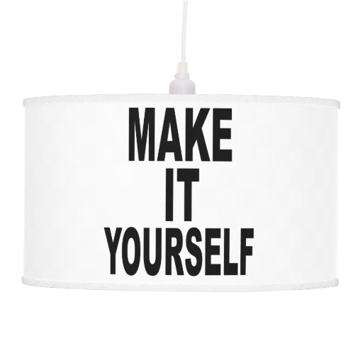 Design Your Own Swag Contest Ends Today: Create Your Own Hanging Lamp Shade