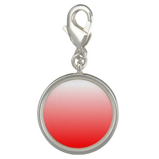 Make Your Own Charm Bracelets: Create Your Own Red Ombre Charms