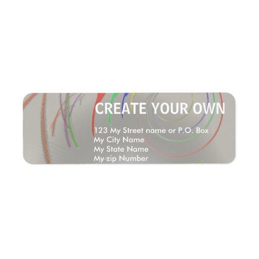 Create Your Own Return Address Label, Custom Return
