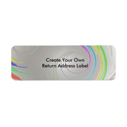 Create Your Own Return Address Label 2