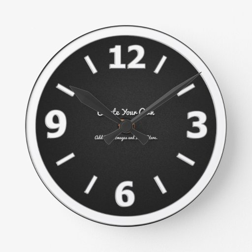 Make Your Own Clock: Create Your Own Round Clock