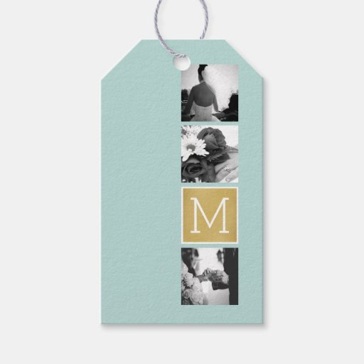 Make Your Own Wedding Gift: Create Your Own Wedding Photo Collage Monogram Pack Of