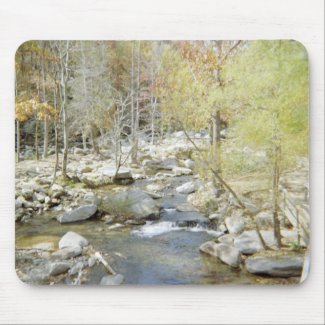 Creek at Chimney Rock mousepad