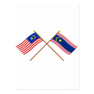 Malaysia Flag Postcards   Zazzle