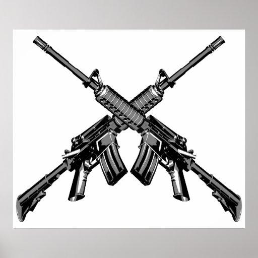 AK or M4? - Page 10 - Los Santos Roleplay  Crossed Guns M4