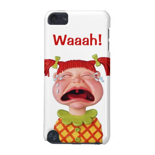 Crying Girl iPod Touch (5th Generation) Case | Zazzle